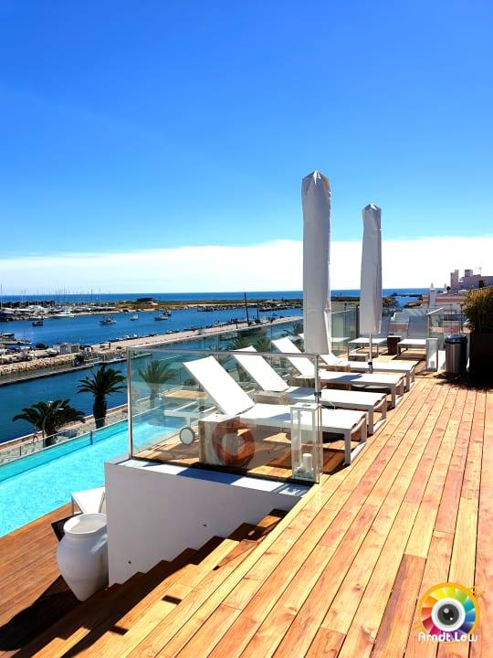 Pool Lagos Avenida Hotel