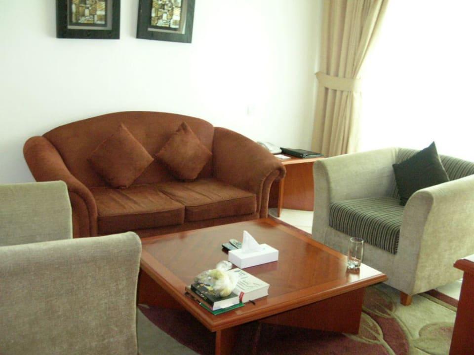 Wohnzimmer 317 Hotel Grand Midwest