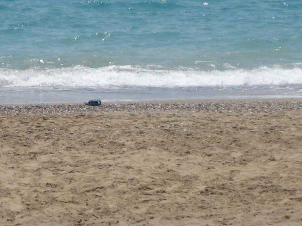 Sand sehr heiß Aldiana Side  (Vorgänger-Hotel – existiert nicht mehr)