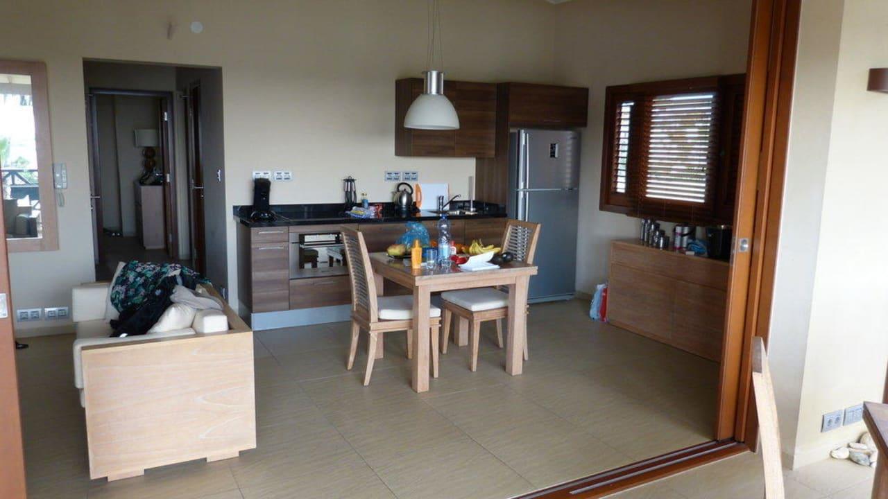 Wohn-/Essbereich La Maya Beach Curacao Resort