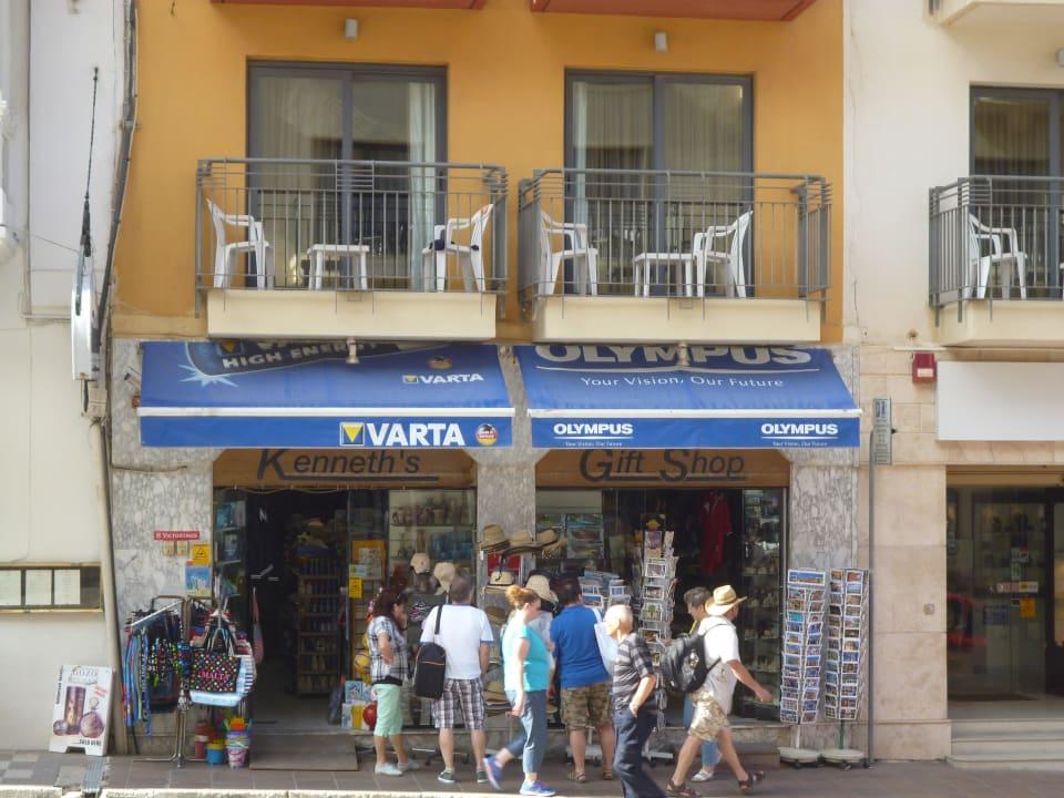 Nebenhaus rechter Balkon zum Zimmer 114 Maritim Antonine Hotel & Spa Malta