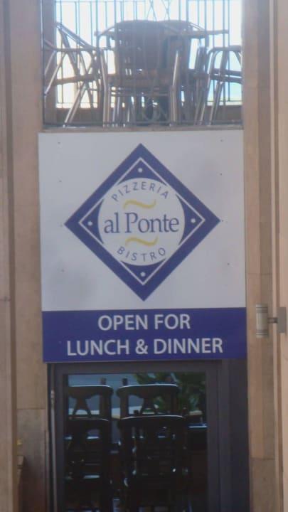 Restaurant al Ponte Maritim Antonine Hotel & Spa Malta