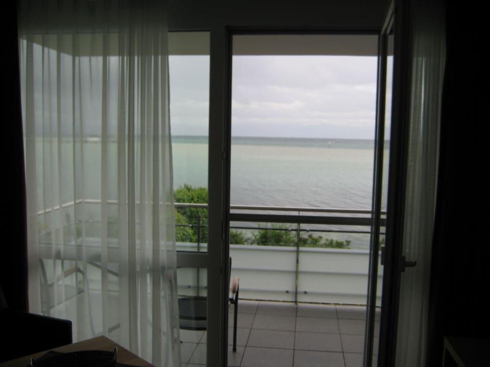 Blick aus dem Zimmer auf den See See genießen - Haus Seeblick