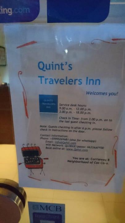 Andere Geschäfte / Rezeption Travelodge Quints Curacao