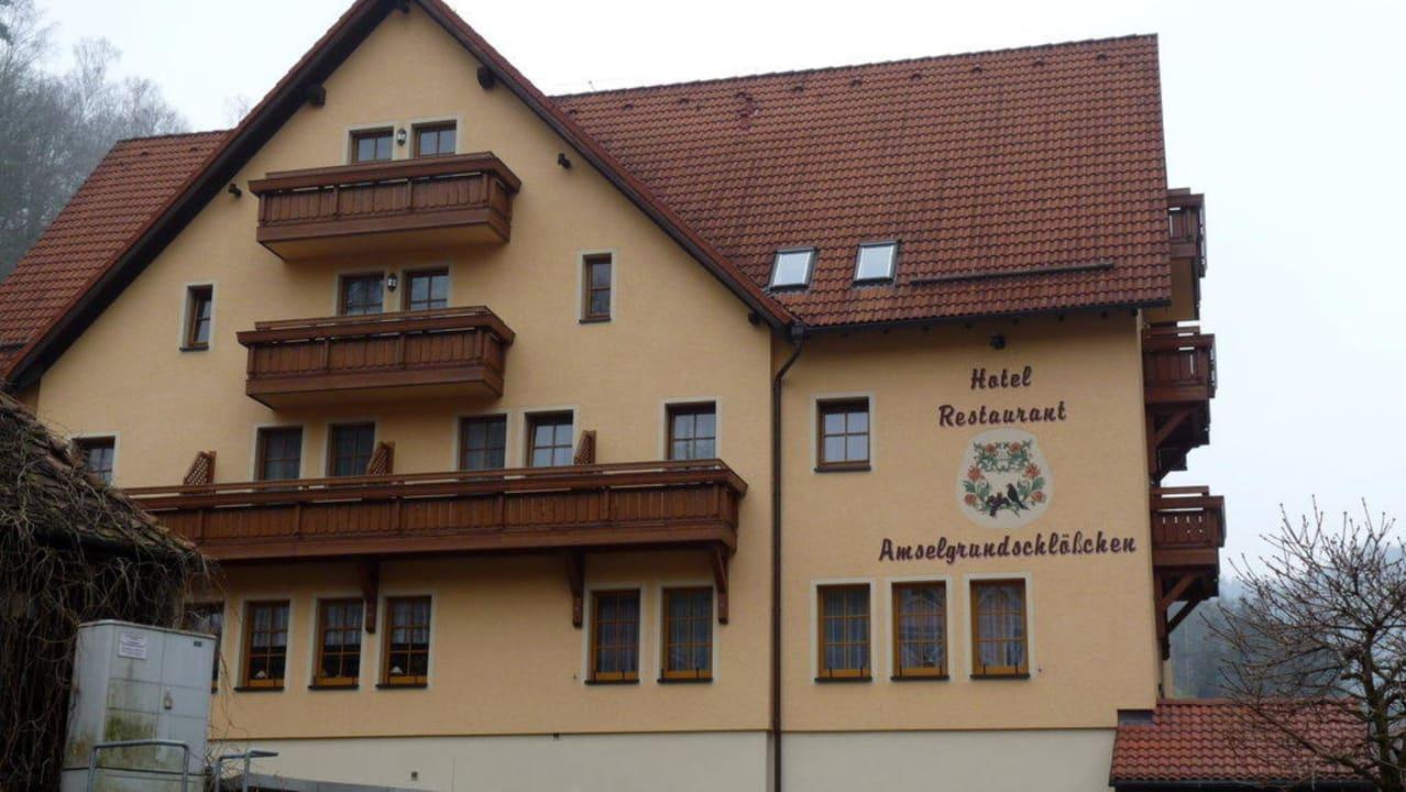 Aussenansicht des Hotels Hotel Amselgrundschlößchen