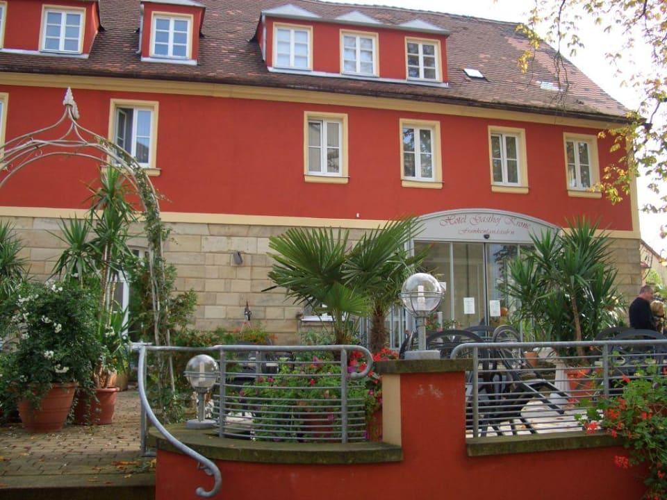 Hotel von außen Hotel Gasthof Krone