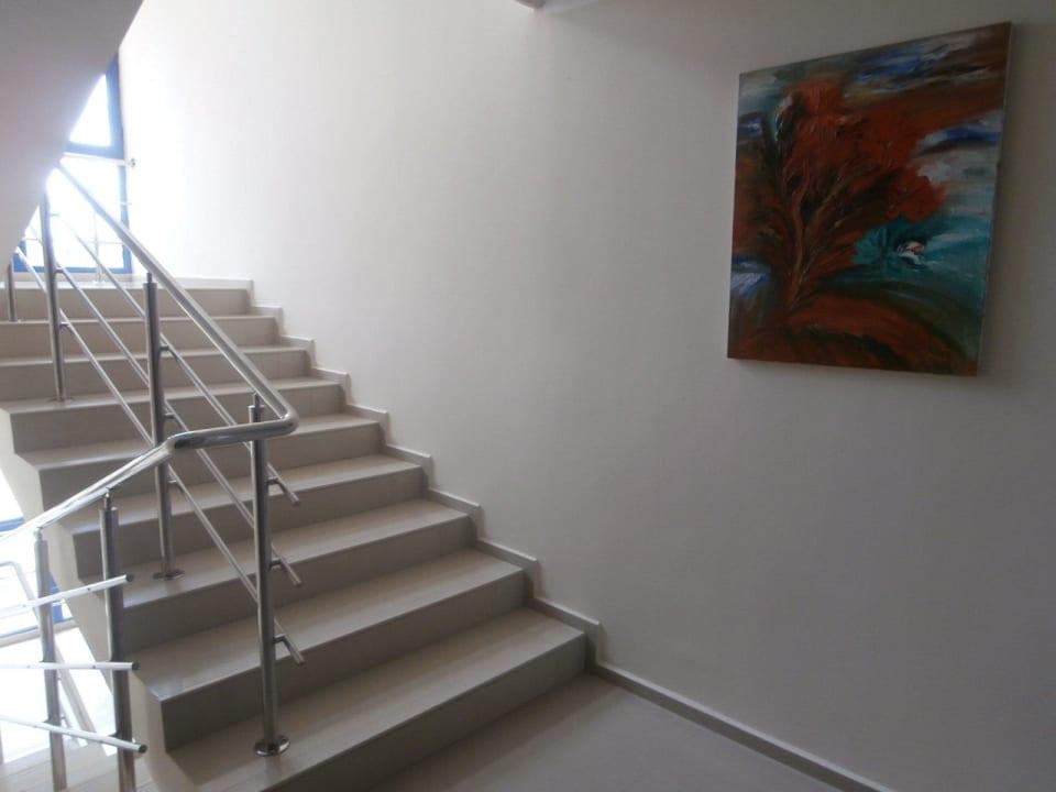 Symaptyczne schody Hotel Pliska