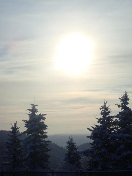 Winter in Dröbischau Landgasthof Kemter