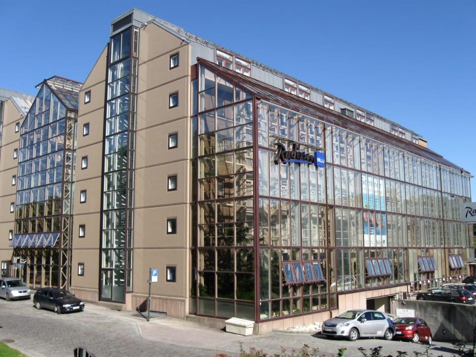 Aussenansicht Radisson Blu Royal Garden Hotel