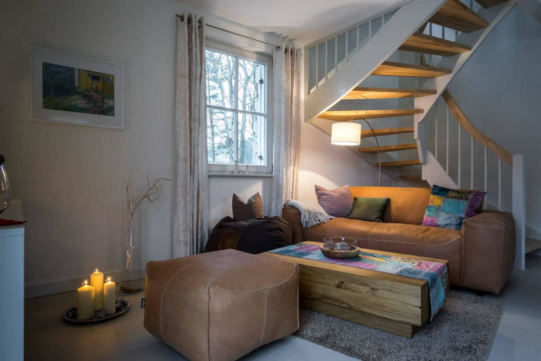 Wohnbereich Holiday Homes Greta & Stella Glowe