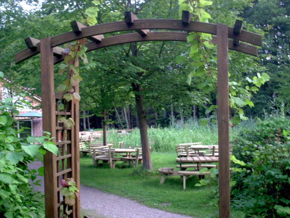 Gartenmöbel Hotel Farchauer Mühle