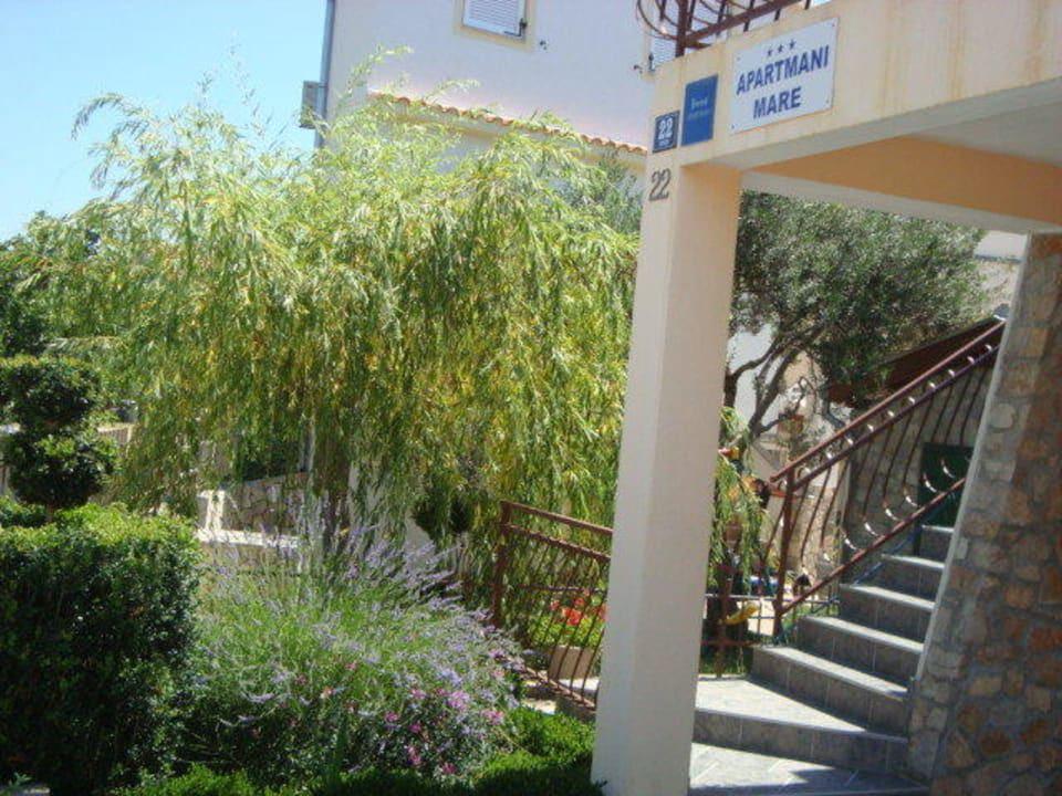 Apartmani Mare Pirovac Eingangsbereich Apartmani Mare