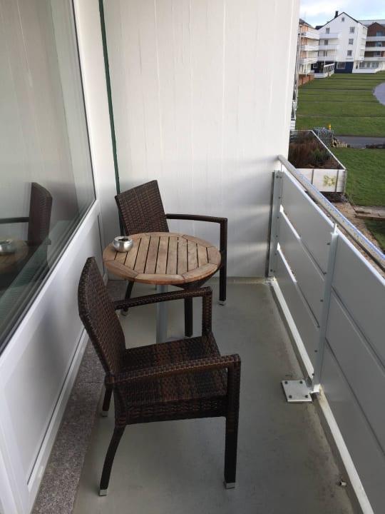 Balkon Hotel Hochseeinsel