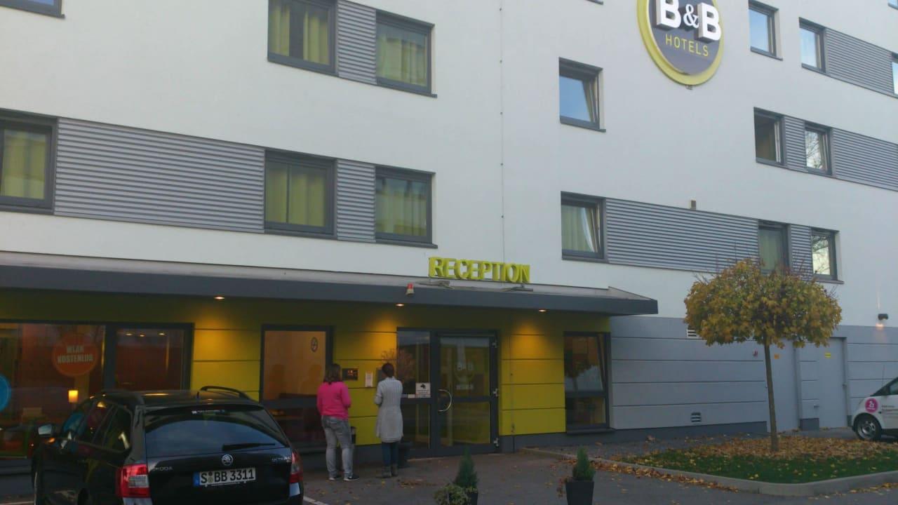 Endlich angekommen  B&B Hotel Stuttgart-Vaihingen