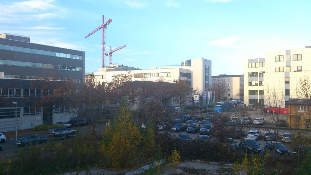 Gewerbegebiet eben... B&B Hotel Stuttgart-Vaihingen