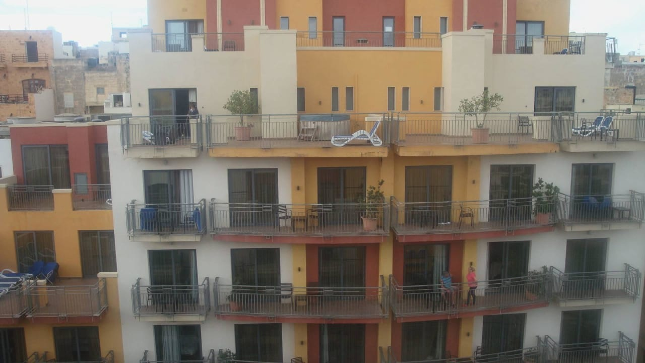 Nebengebäude Maritim Antonine Hotel & Spa Malta