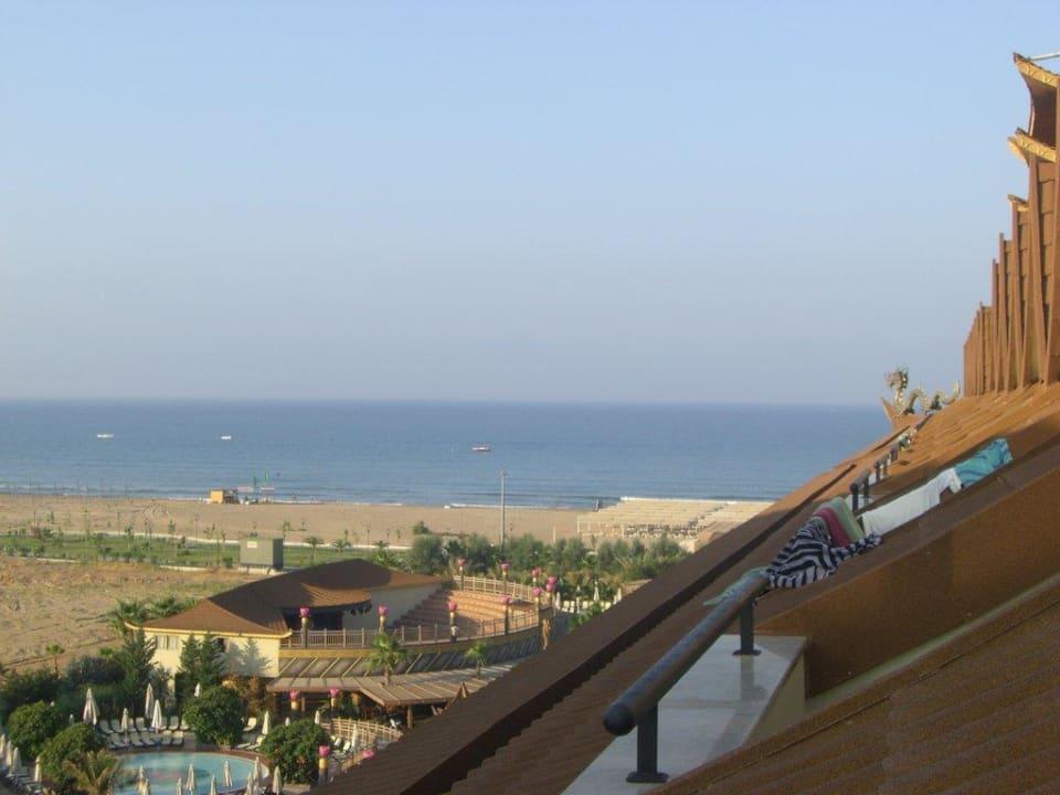 Ausblick aus unserem Zimmer Hotel Royal Dragon