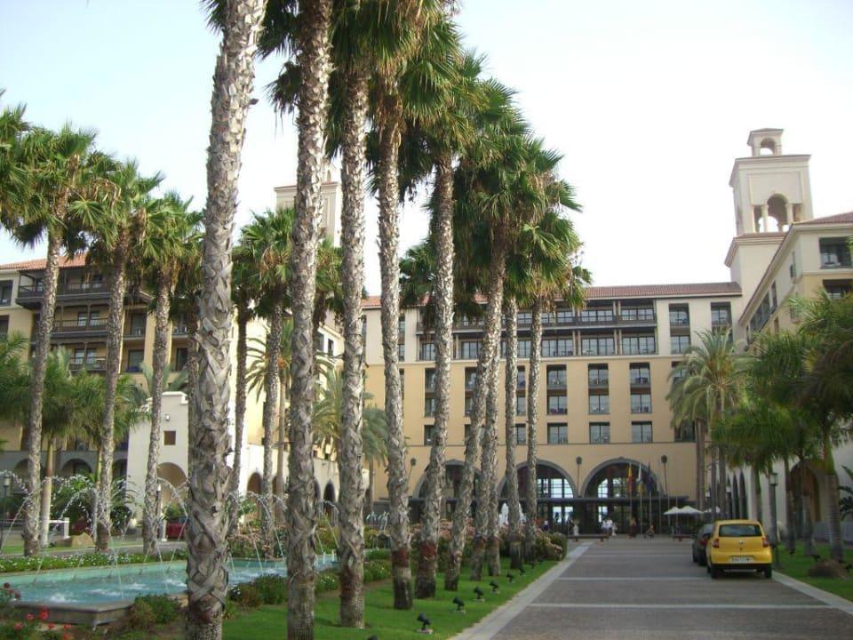 Blick Richtung Haupteingang Lopesan Costa Meloneras Resort, Spa & Casino