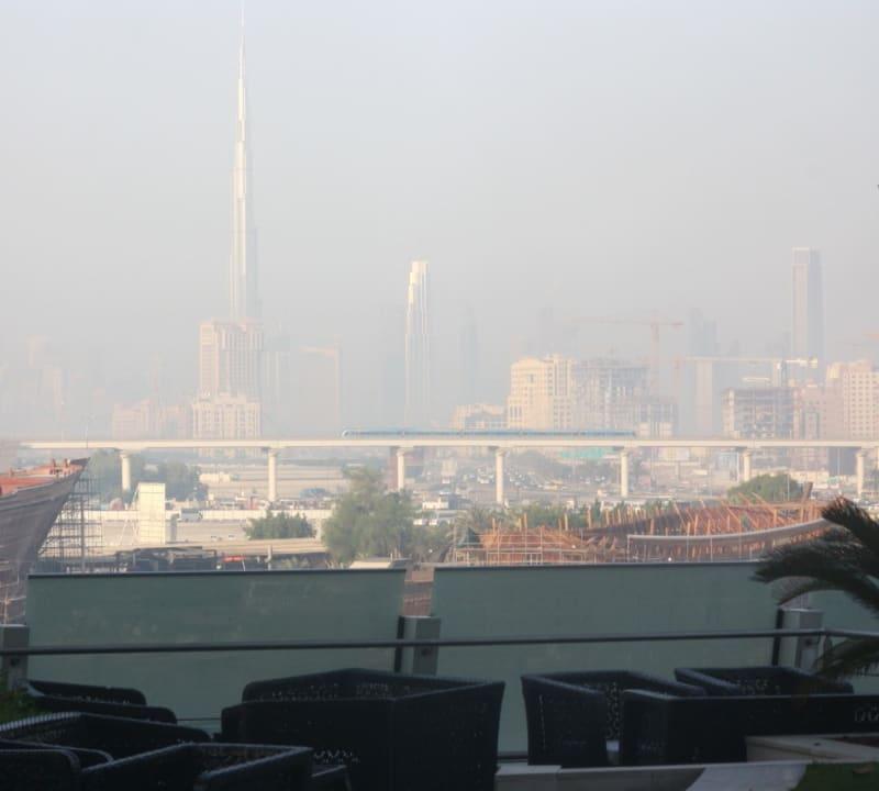 Ausblick Hotel Crowne Plaza Dubai Festival City