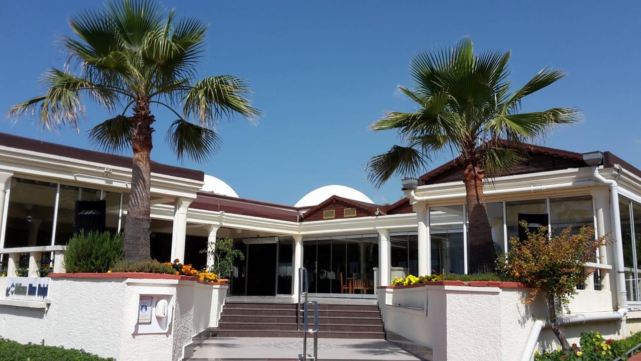 Eingang Restaurant Aldiana Side  (Vorgänger-Hotel – existiert nicht mehr)