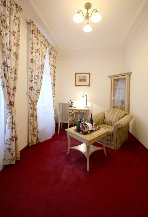 Lux room - living room  Spa Hotel Schlosspark