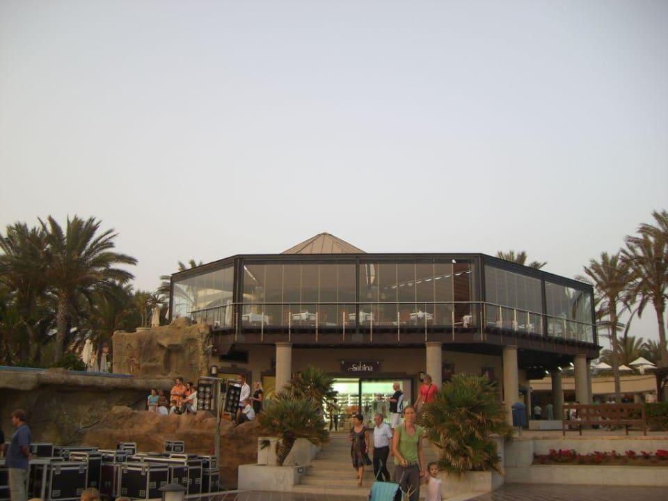 Gourmet-Restaurant von der Promenade aus gesehen Lopesan Costa Meloneras Resort, Spa & Casino