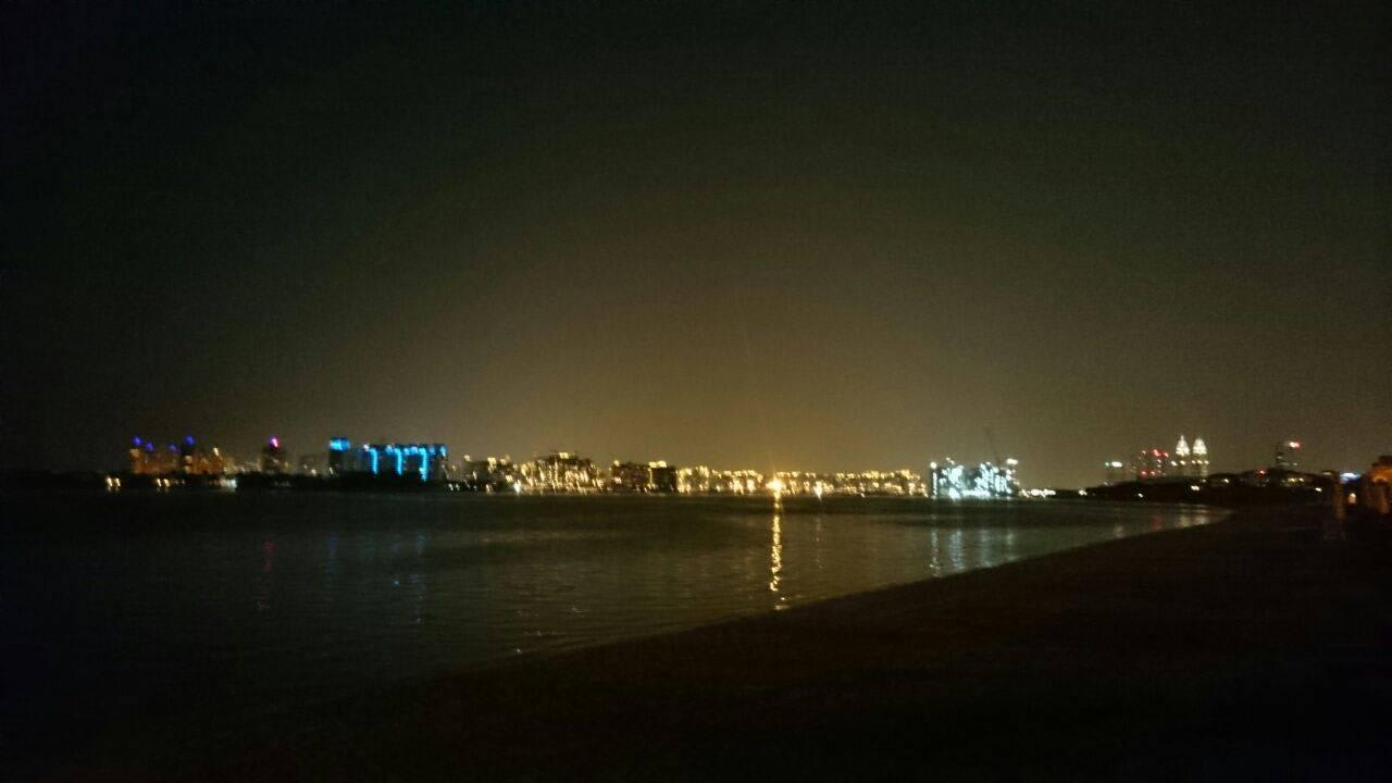 Blick auf Skyline Kempinski Hotel & Residences Palm Jumeirah