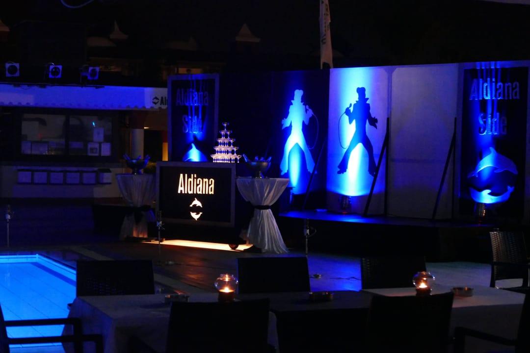 Gala-Abend Aldiana Side  (Vorgänger-Hotel – existiert nicht mehr)