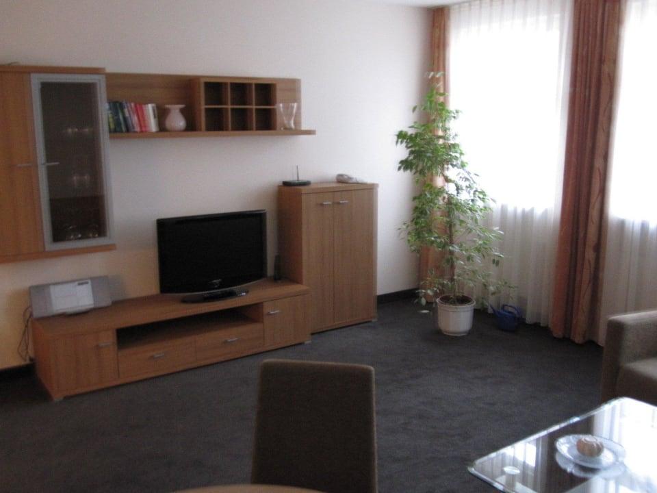Wohnzimmer Aparthotel Neumarkt