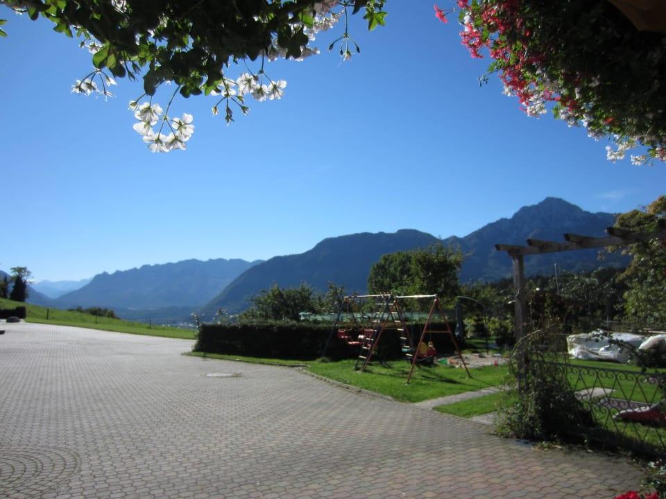 Aussicht auf die Berge vom Kochhof Kochhof