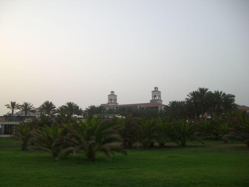 Die zwei Türme des Hotels Lopesan Costa Meloneras Resort, Spa & Casino