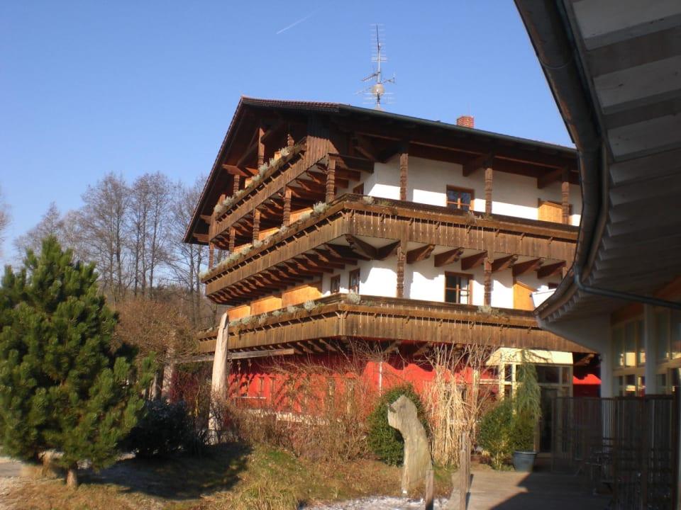 Das Haupthaus Die Hacienda Adventure Camp Schnitzmuhle Viechtach Holidaycheck Bayern Deutschland