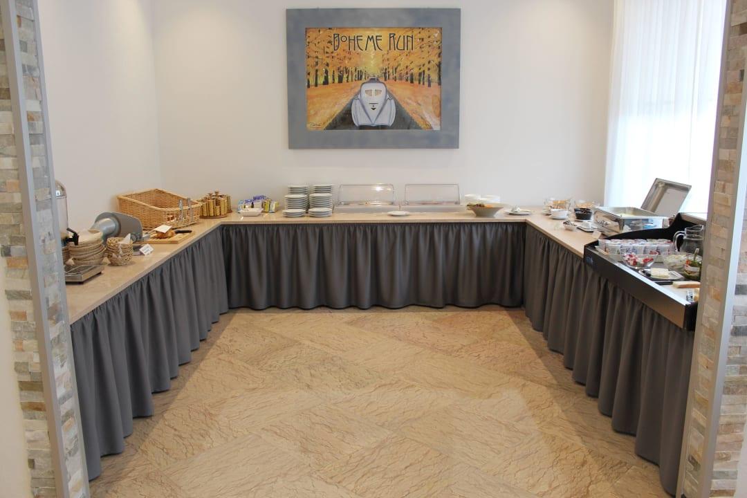 Frühstücksbüffet Hotel Luna