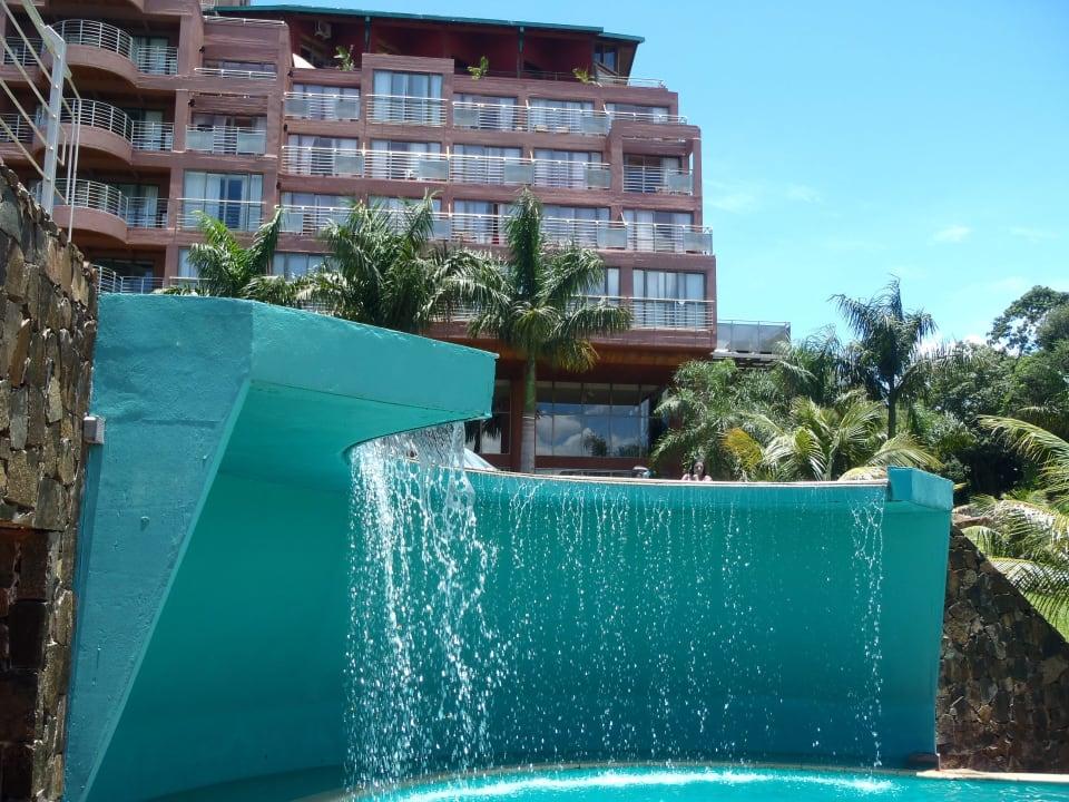 River view and pool hotel side Hotel Amerian Portal Del Iguazu