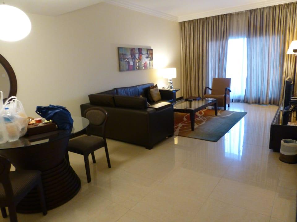 Wohnzimmer Flora Park Deluxe Hotel Apartments