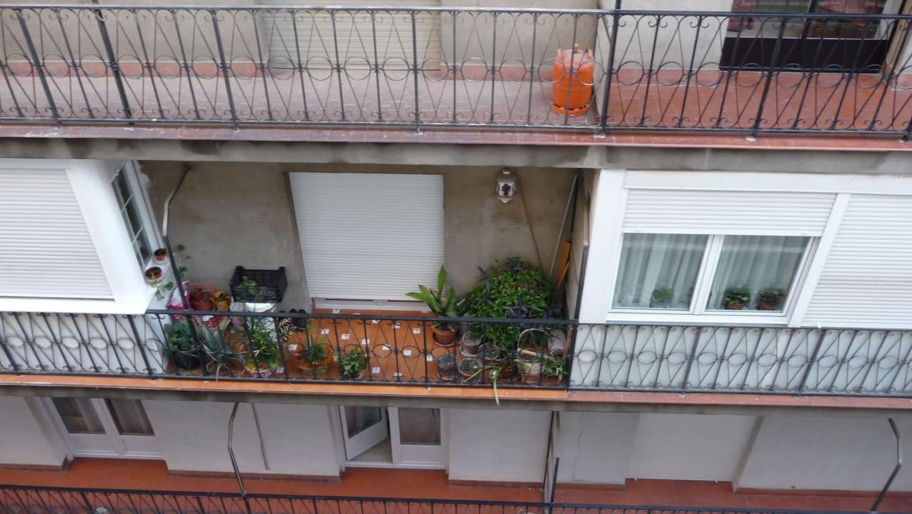 Blick aus dem Zimmer (Lage zur Straße hin) Hotel Anacapri