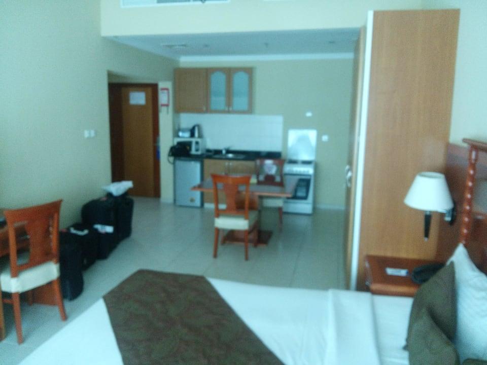 Zimmer, Küche Hotel Grand Midwest