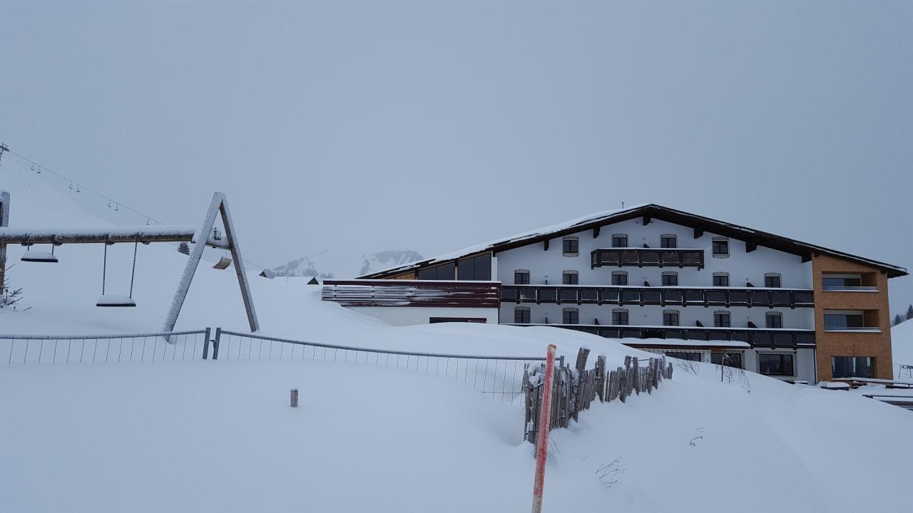 Außenansicht Alpenresort Walsertal