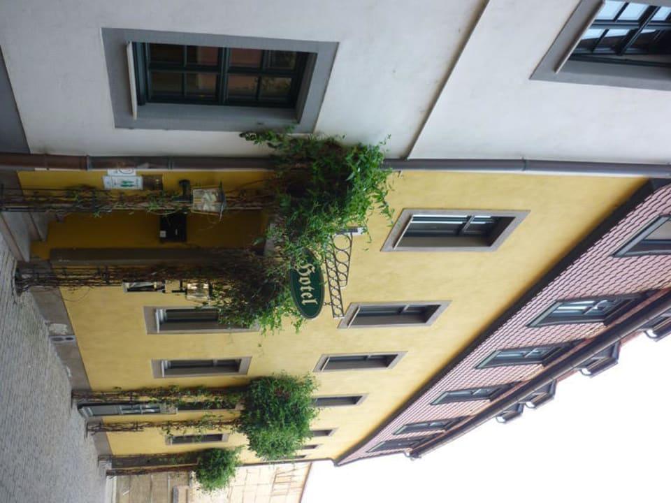 Eingang Hotel Stadt Aachen