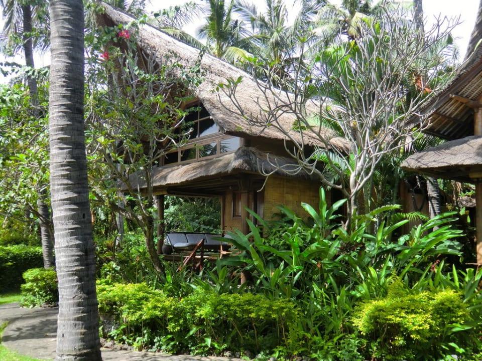 Garten angenehme Ruhe  Hotel Santai