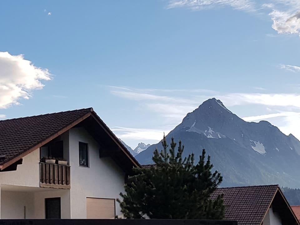 Außenansicht Ferienwohnung Karwendelherzen