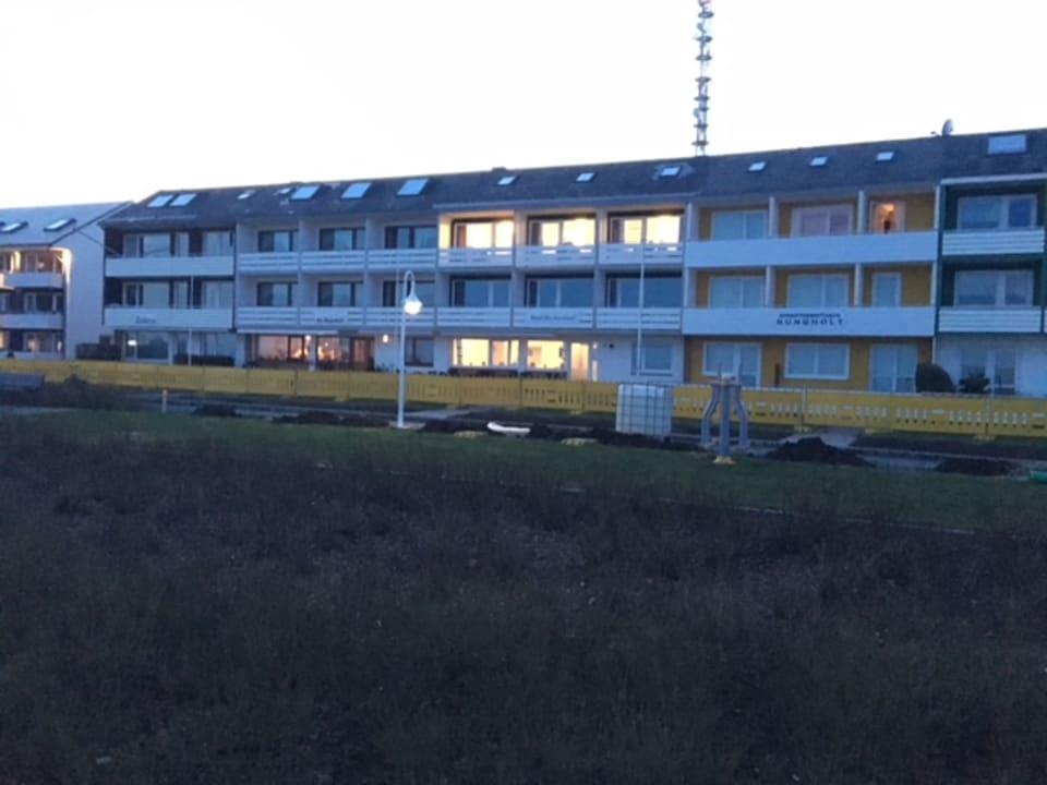 Außenansicht Hotel Hochseeinsel