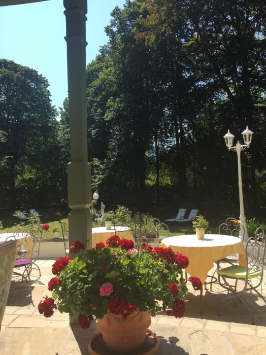 Terrasse Villa Adolphine