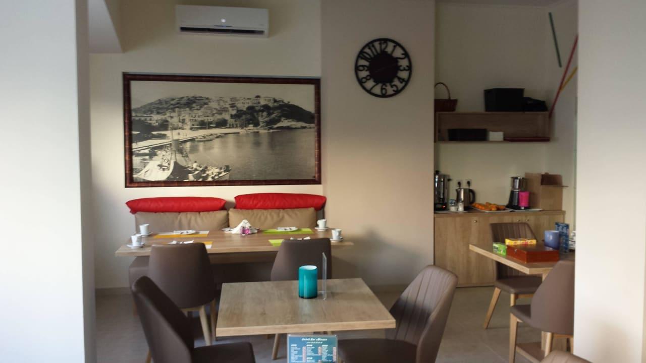Frühstücksbereich Hotel Minos