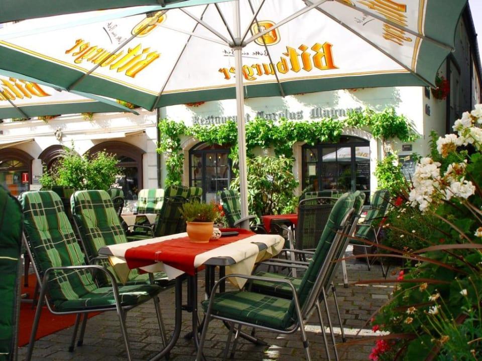 Terrasse Hotel Stadt Aachen