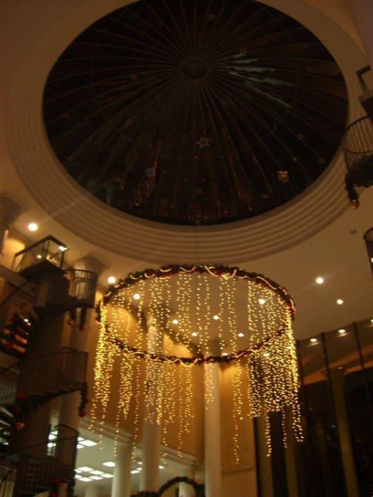 Die Kuppel im Eingang Bahia Princess