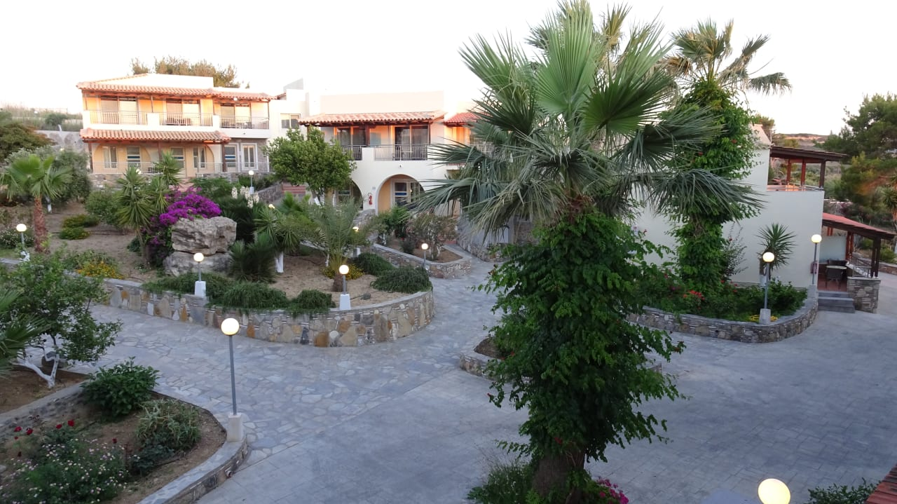Gartenanlage Hotel Kouros Palace