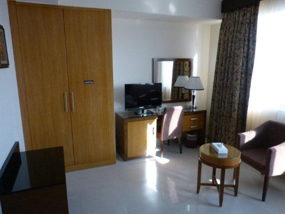 Schlafzimmer City Tower Hotel