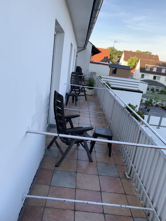 Ausblick Hotel Teutonia