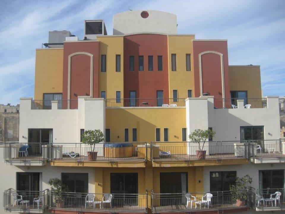Außenansicht des zweiten Hotelkomplex Maritim Antonine Hotel & Spa Malta